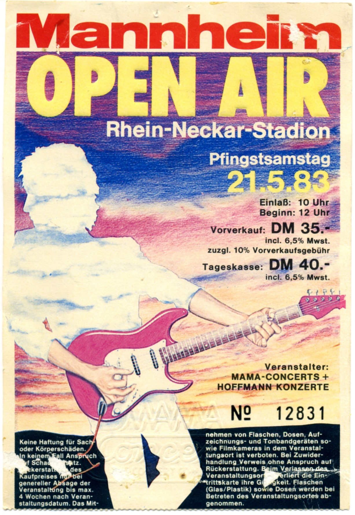 Fabulous Mannheim Open Air – The Rock'n'Roll Years ZB63